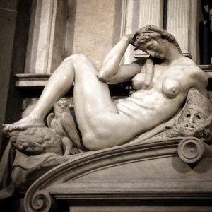 Новая ризница, Микеланджело