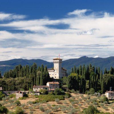 Дегустация вина и мастер-класс тосканской кухни в средневековом замке