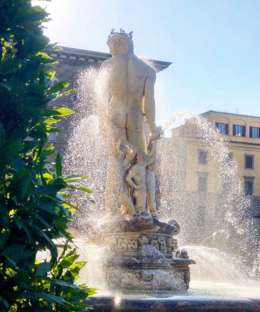 Фонтан Нептуна, Флоренция