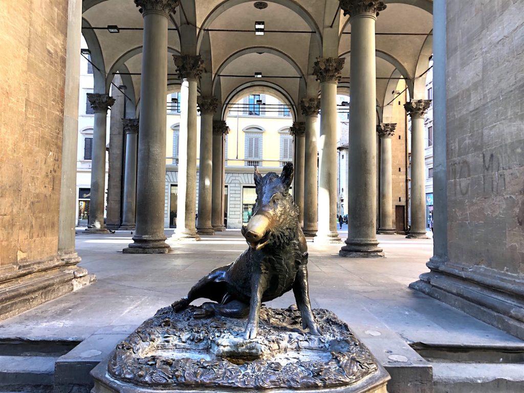 Порчеллино кабанчик, Флоренция